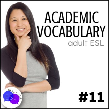 Academic Vocabulary 11 with Activities and Worksheets