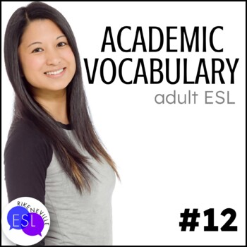 Academic Vocabulary 12 with Activities and Worksheets