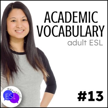 Academic Vocabulary 13 with Activities and Worksheets