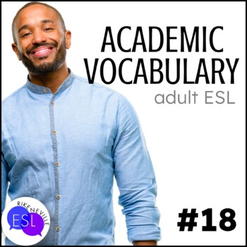Academic Vocabulary 18 with Activities and Worksheets