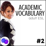 Academic Vocabulary 2 with Activities and Worksheets
