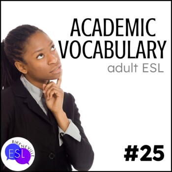 Academic Vocabulary 25 with Activities and Worksheets