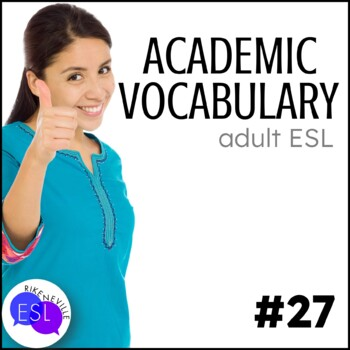 Academic Vocabulary 27 with Activities and Worksheets