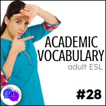Academic Vocabulary 28 with Activities and Worksheets