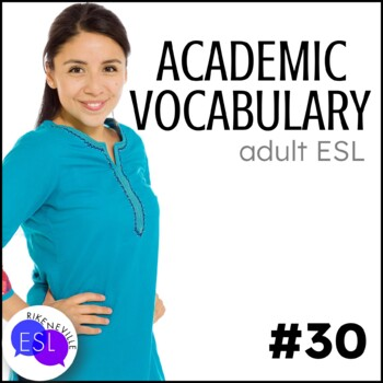 Academic Vocabulary 30 with Activities and Worksheets