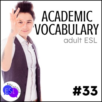 Academic Vocabulary 33 with Activities and Worksheets