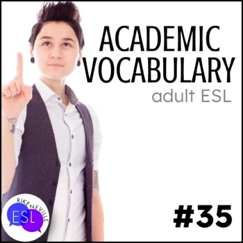 Academic Vocabulary 35 with Activities and Worksheets