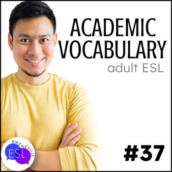Academic Vocabulary 37 with Activities and Worksheets