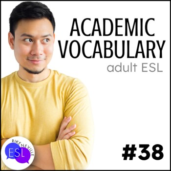 Academic Vocabulary 38 with Activities and Worksheets
