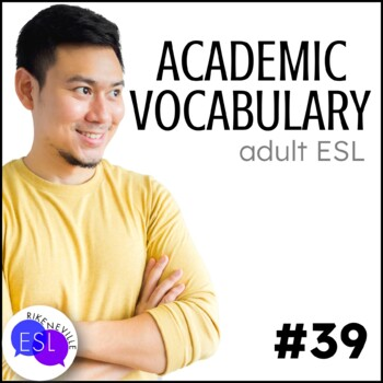 Academic Vocabulary 39 with Activities and Worksheets