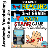 Academic Vocabulary   3rd Grade ★ STAAR ★ Math and Reading