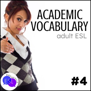 Academic Vocabulary 4 with Activities and Worksheets