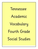 Academic Vocabulary 4th Grade Social Studies