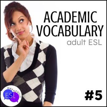 Academic Vocabulary 5 with Activities and Worksheets