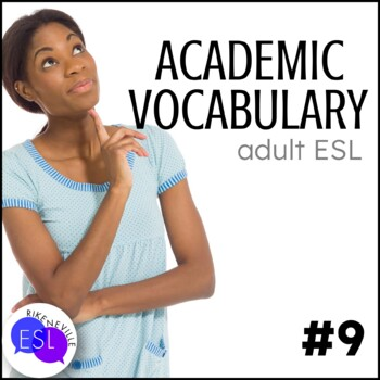 Academic Vocabulary 9 with Activities and Worksheets