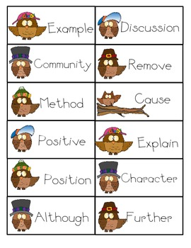 Academic Vocabulary - Activity Pack