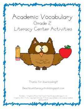 Academic Vocabulary - Activity Pack