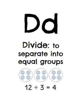 Academic Vocabulary Alphabet - Third Grade