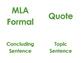 Academic Vocabulary- Argument Writing