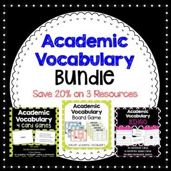 Academic Vocabulary BUNDLE