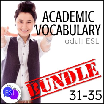 Academic Vocabulary BUNDLE 7 with Activities and Worksheets