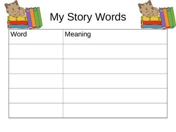 Academic Vocabulary Book