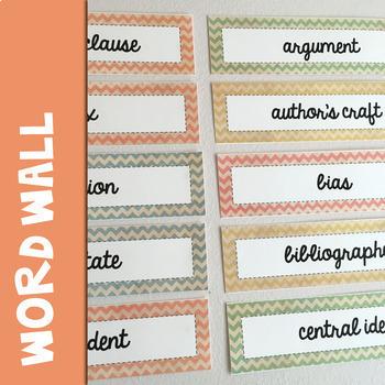 Academic Vocabulary ELA Bundle