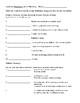 Academic Vocabulary, Context Clues, and Parts of Speech Chart