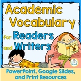 Academic Vocabulary, Critical words for Standardized Tests