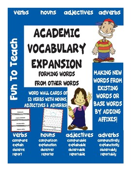 Academic Vocabulary Expansion
