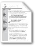 Academic Vocabulary, Grade 2: Cumulative Review/Weeks 10-17