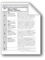Academic Vocabulary, Grade 2: direct, indirect, direction,