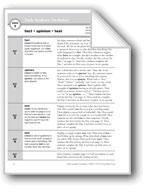 Academic Vocabulary, Grade 2: fact, opinion, test
