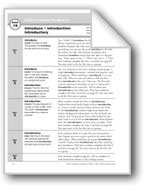 Academic Vocabulary, Grade 4: introduce, introduction, int