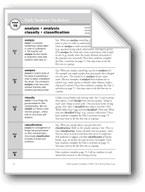 Academic Vocabulary, Grade 6+: analyze, analysis, classify, classification
