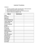 Academic Vocabulary - Group Project