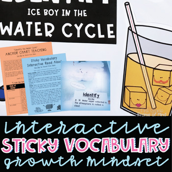 Academic Vocabulary Growth Mindset Ice Boy