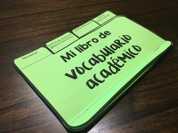 Academic Vocabulary K-2 BUNDLE {SPANISH}