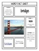 Academic Vocabulary - K-2 Health and Geography I