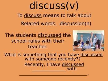 Academic Vocabulary Powerpoint