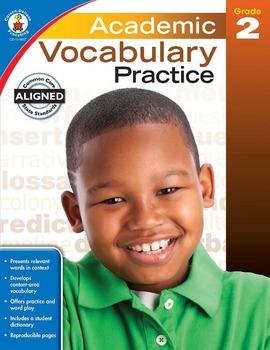 Academic Vocabulary Practice Grade 2 SALE 20% OFF! 104807