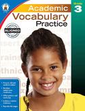 Academic Vocabulary Practice Grade 3 SALE 20% OFF! 104808