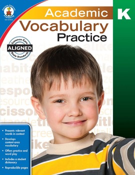 Academic Vocabulary Practice Grade K SALE 20% OFF! 104805
