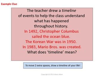 Context Clues Race