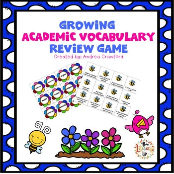 Academic Vocabulary Review Activities