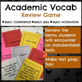 Academic Vocabulary Review Game
