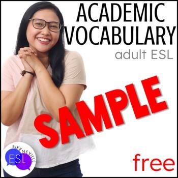 Academic Vocabulary SAMPLER