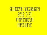 Grade 3 Academic Vocabulary Set 1-21 Promethean Flipcharts BUNDLE