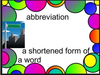 Grade 3 Academic Vocabulary Set 8 Promethean Flipchart