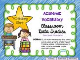 Academic Vocabulary (Marzano) Data Tracker No-Prep Pack Ki